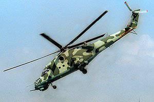 दागिस्तान में, एक सैन्य हेलीकॉप्टर दुर्घटनाग्रस्त हो गया