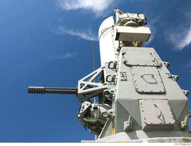 Шестипалая Фаланга: зенитный артиллерийский комплекс Phalanx