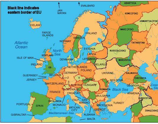 Strannaya Karta Evropy Ili Kak Google Vedet Informacionnuyu Vojnu