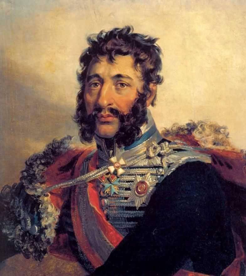 Ya。P Kulnev  - 愛国心が強い戦争の英雄、戦いで亡くなりました