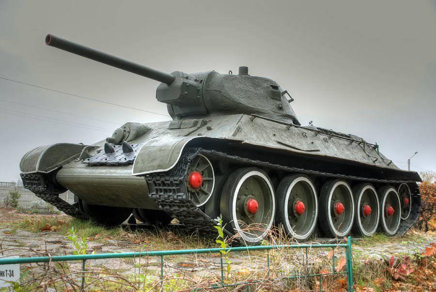 Картинки с танком т 34, картинки гиф
