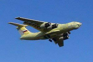 Ил-76МД-90А приступил к летным испытаниям