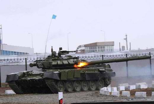 "Kazakhstan will turn its old T-72 into ""Buratino"" and ""Terminators"""