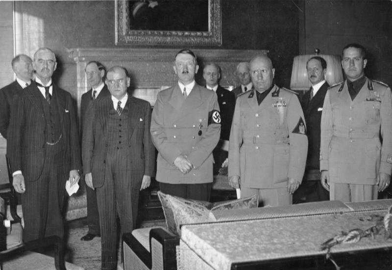 «Мюнхенский сговор» 30 сентября 1938