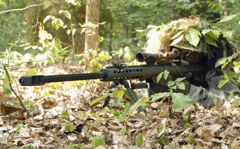 Снайперские винтовки Barrett семейства М82