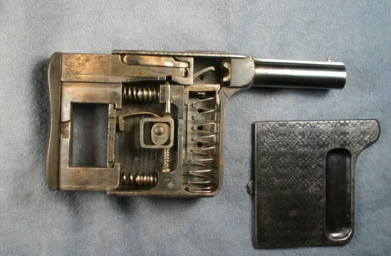 Пистолет Mitrailleuse/ Le Gaulois