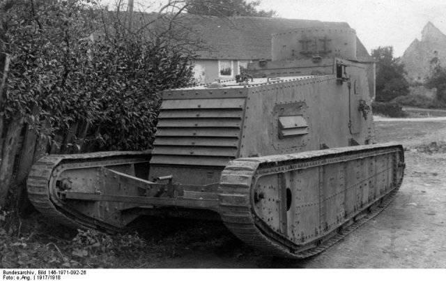 Как начинался век танков