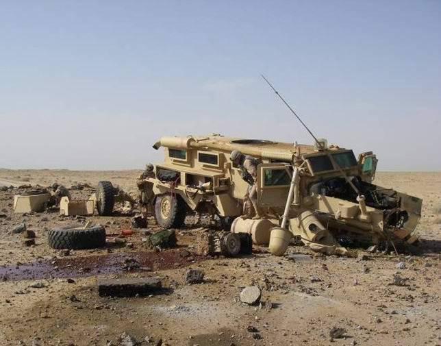 現代の装甲車の地雷対策 - 解決策と実施例
