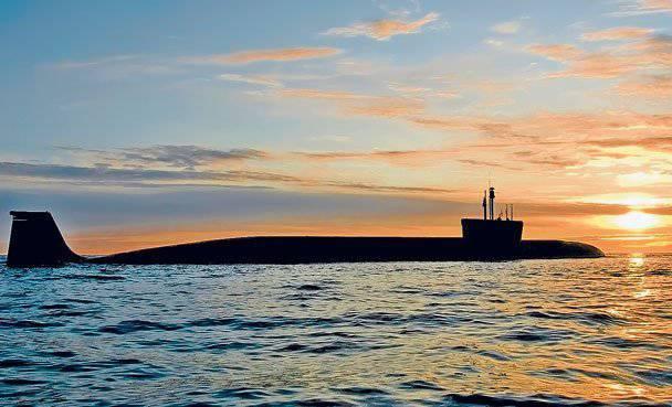 """SSNS """"Alexander Nevsky"""" completó con éxito la siguiente etapa de pruebas en el mar en una fábrica en el Mar Blanco"""