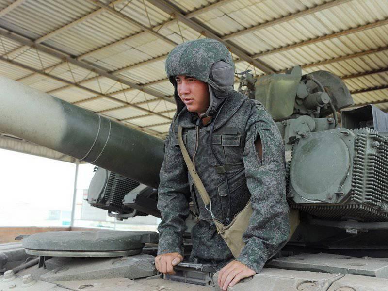 軍は新しい武器を受け取ります