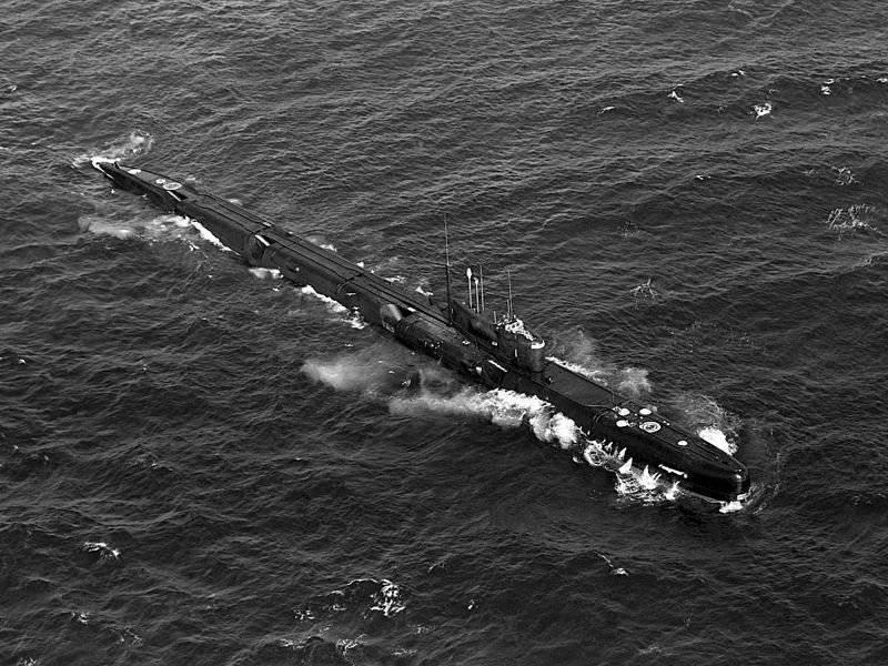 Атомные подводные лодки с крылатыми ракетами. Проект 675 (Echo-II class)