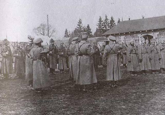 第一次世界大戦。 Prasnyshskayaオペレーション