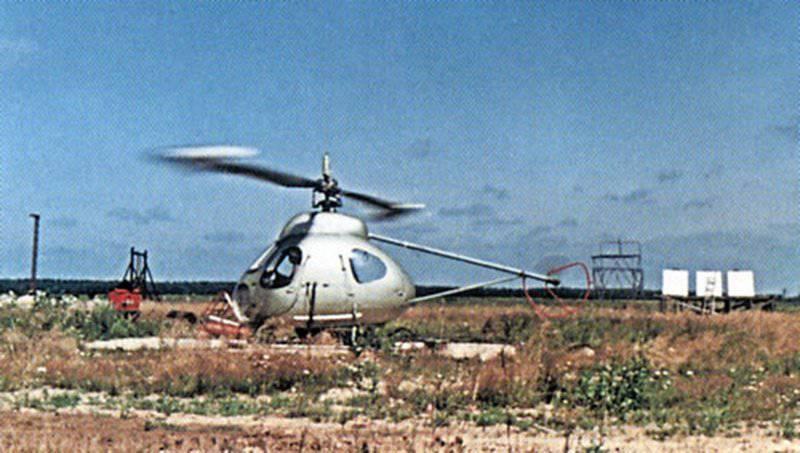 В-7 прототип реактивного вертолета времен СССР