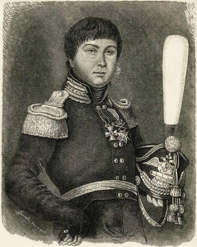 A. S. Figner - 프랑스 군대를 두려워하는 당파 영웅