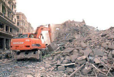 負傷したシリアの街と恥知らずなトルコ挑発