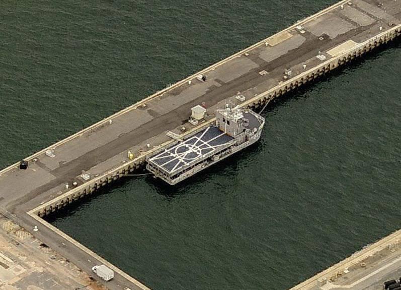 सबसे छोटा अमेरिकी नौसेना का हेलीकॉप्टर वाहक