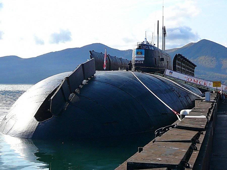 День моряков-подводников отмечают сегодня на Тихоокеанском флоте