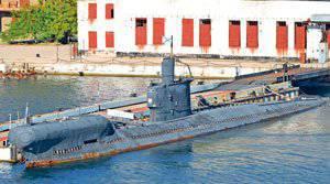 подводная лодка б-380 святой князь георгий проекта 641б