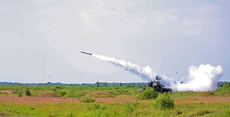 """Дивизионный автономный самоходный зенитный ракетный комплекс """"Оса"""""""