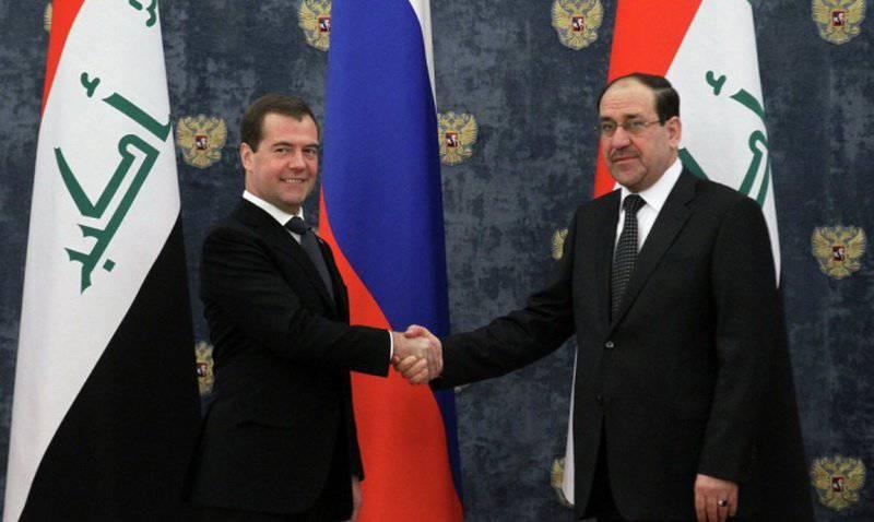 ロシアとイラクが各国間の軍事協力契約を締結