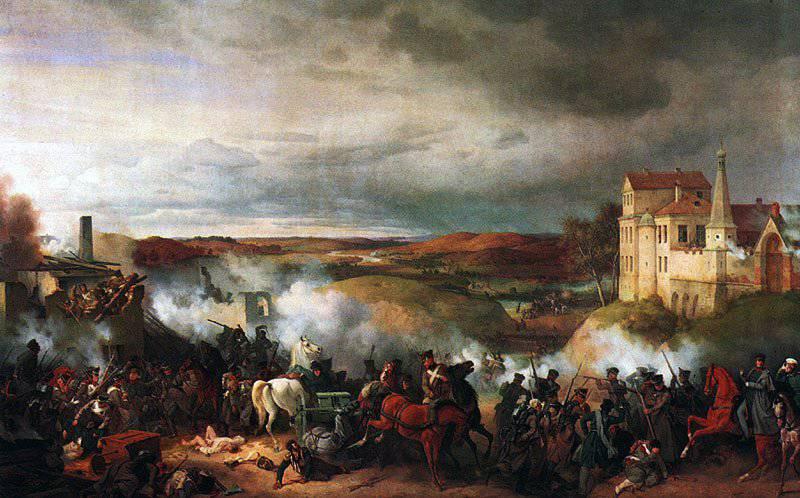 愛国心が強い戦争の過程での根本的な変化:Maloyaroslavetsのための戦い12(24)10月1812