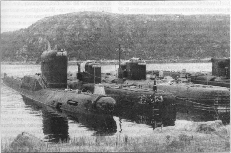 K-19 जैसे बैलिस्टिक मिसाइलों के साथ परमाणु पनडुब्बियां। प्रोजेक्ट 658 (होटल- I वर्ग)