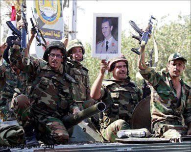 シリアの特殊部隊 - それは私たちのことですか?