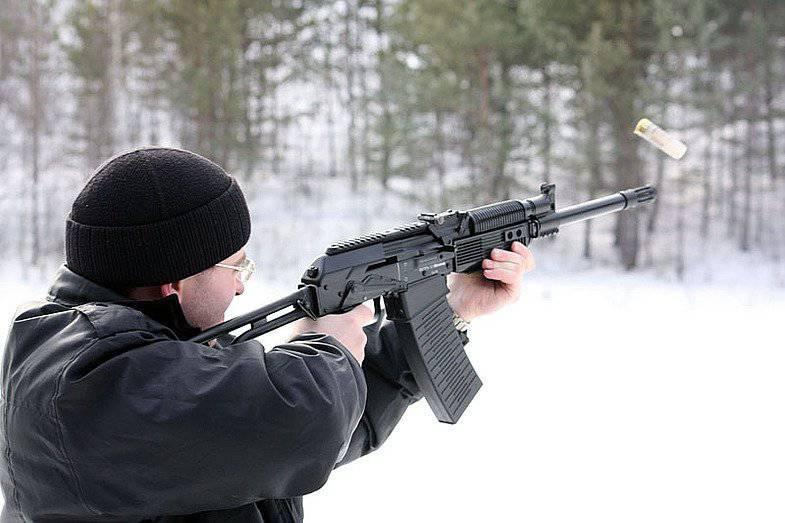 El mosquetón Vepr-12 será adoptado por los países de la OTAN para 17