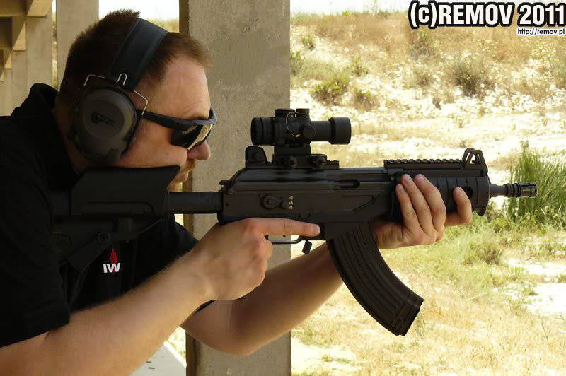 AK-12 arrive en Israël? Chronique de Galil Ace