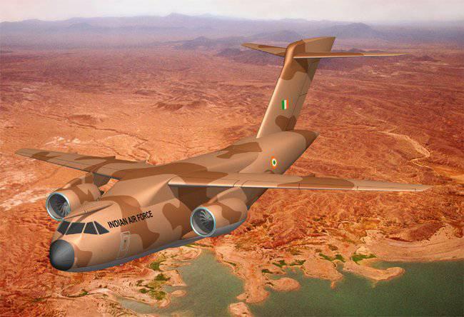 UACとインドのXALはMTA多目的輸送機の開発の第一段階のための契約に署名しました
