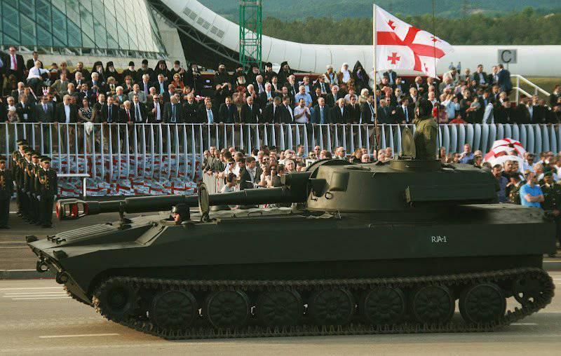 グルジアへの新しいブルガリアの武器供給