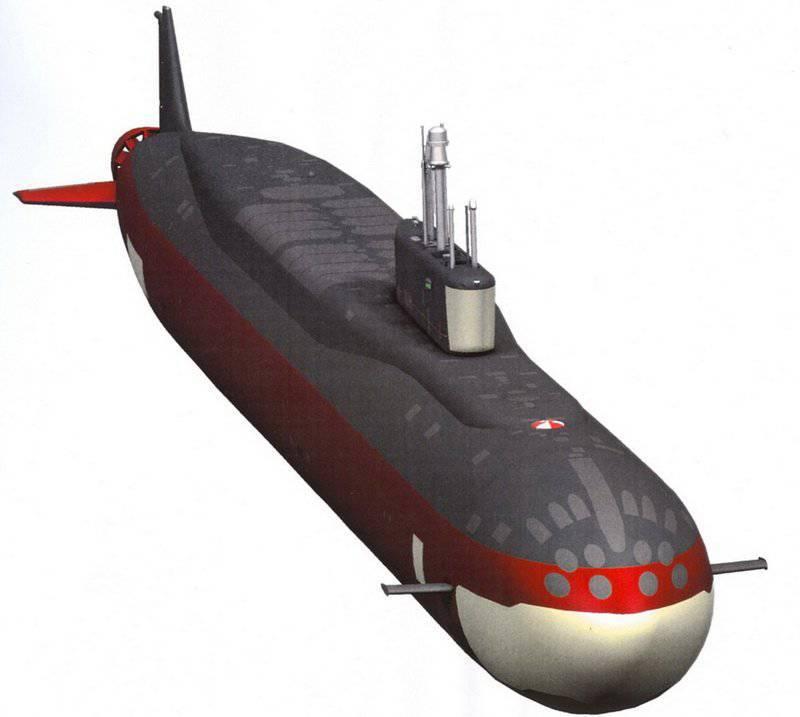 """परियोजना 955 """"बोरे"""" की परमाणु पनडुब्बियां"""