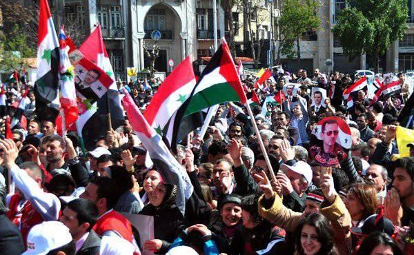 La falsificación y las sanciones son un arsenal de enemigos sirios.