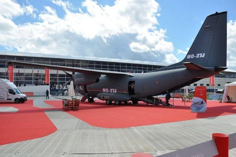 "Aeronave multiusos ""Ganship"" MC-27J"