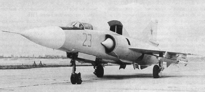 Lutador piloto com UVP MiG-23PD