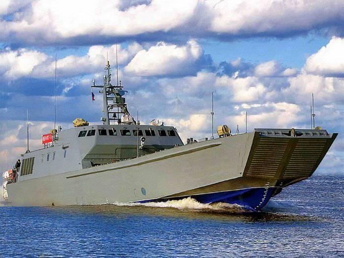 "Barcos anfibios del proyecto 21820 ""Dugong"""