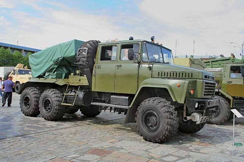 """Modernización de Ucrania del MLRS BM-21 """"Grad"""" - BM-21U """"Grad-M"""""""