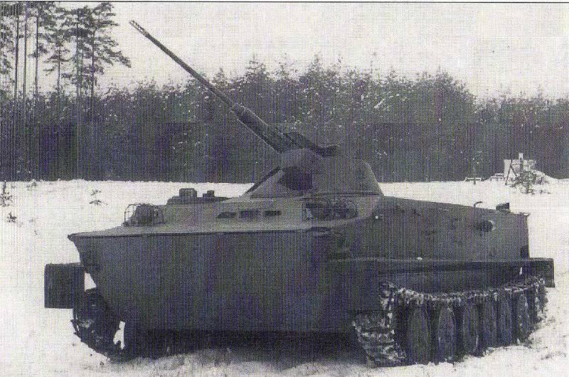 Pistolet à tir rapide tchécoslovaque pour le BMP VK.30 (VK.28)