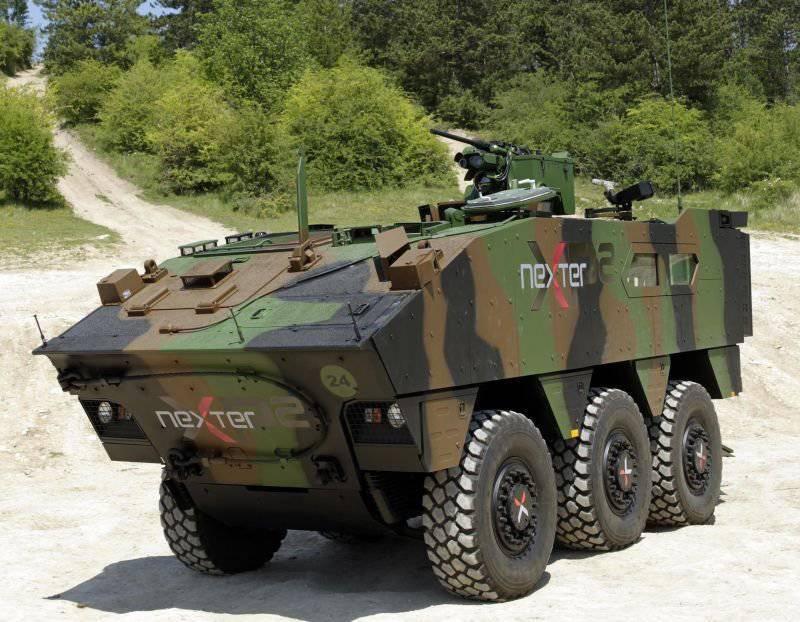 """El BBM francés """"Nexter XP2"""" se ofrece a las fuerzas terrestres de los Estados Unidos"""