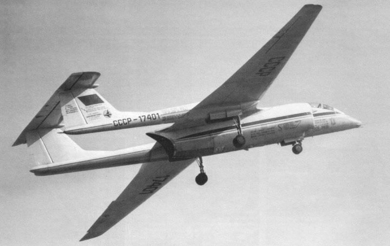 """Avion à haute altitude M-55 """"Géophysique"""""""