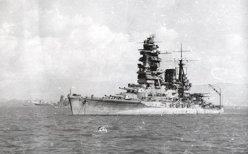 空母に対する戦艦。 海戦のクロニクル