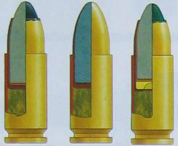 Cartouches 9 XX21 et leurs armes (Article I)