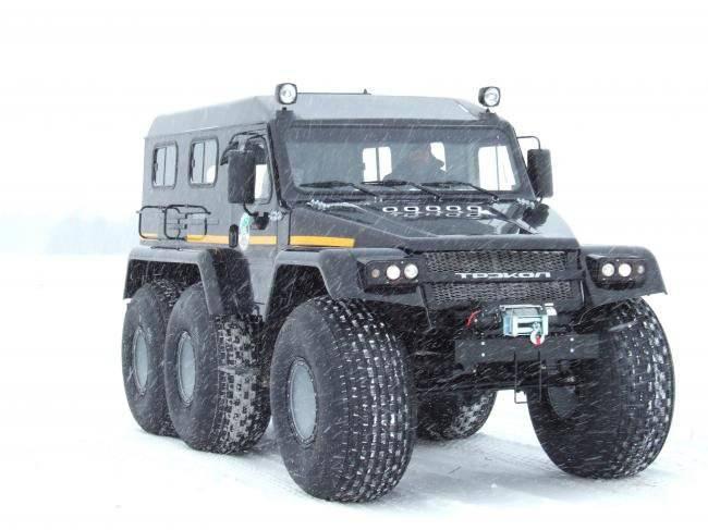 Pruebas del nuevo ATV para guardias fronterizos.