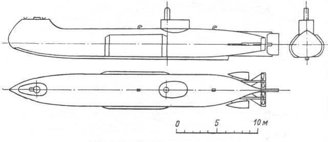 Подводная лодка И. Ф. Александровского