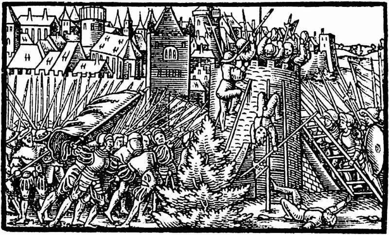Victoria y derrota de la guerra de Livonia. Parte de 2