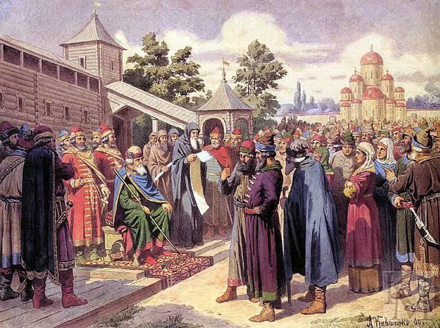Outubro 30 1653 na Rússia emitiu um decreto sobre a abolição da pena de morte para ladrões e ladrões