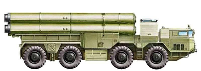 """Créé pour partir - système de missile automoteur RK-55 avec KRBD KS-122 """"Relief"""""""