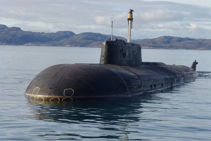 Атомные подводные лодки с крылатыми ракетами. Проект 949 «Гранит»