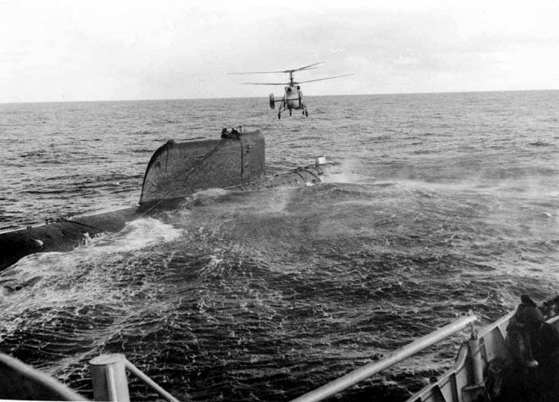 катастрофы советских атомных подводных лодок