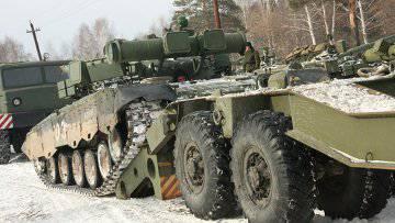 Características del transporte de material militar.